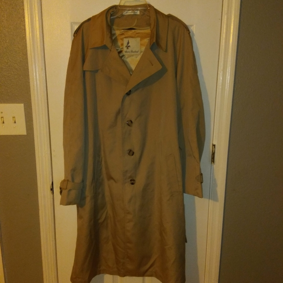 MISTY HARBOR TRENCH COAT